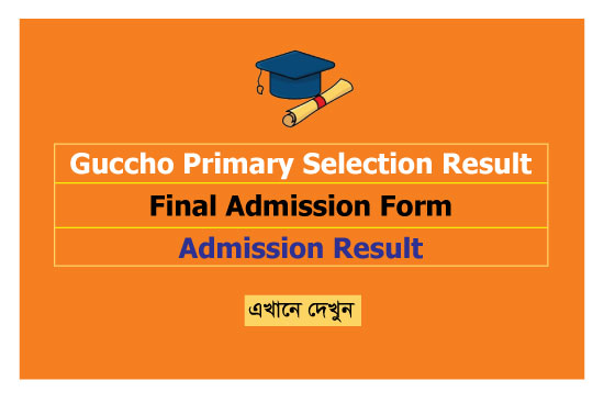 Guccho Primary Selection Result