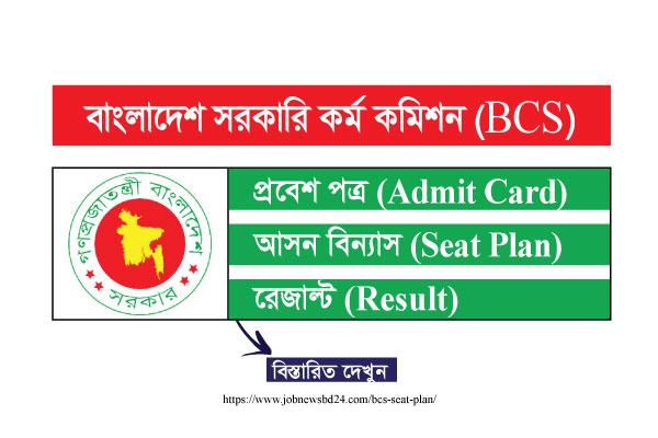BCS Seat Plan